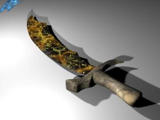 Fire Elemental Sword